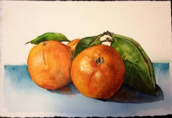 Painting - Orange by Diane Ziemski