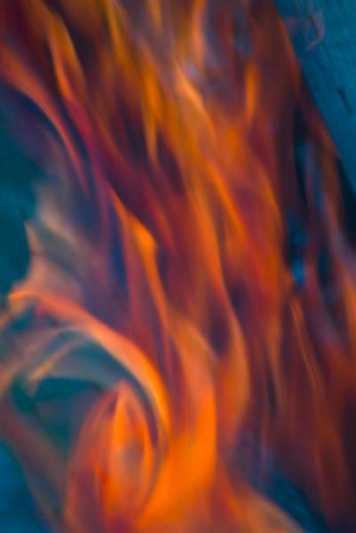 Photograph - Orange Fire by Yulia Kazansky
