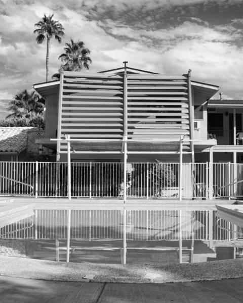 Wall Art - Photograph - Orange Inn Bw Palm Springs by William Dey