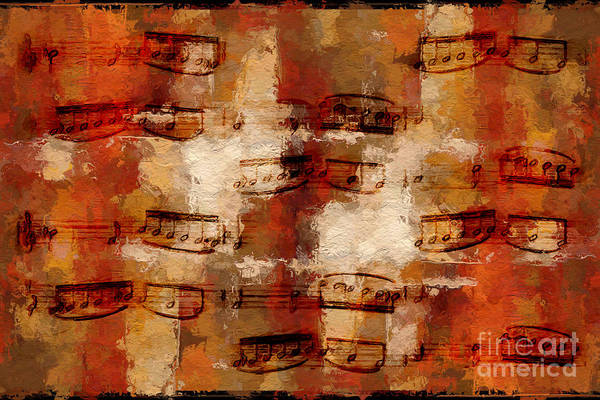 Digital Art - Orange Pastiche by Lon Chaffin