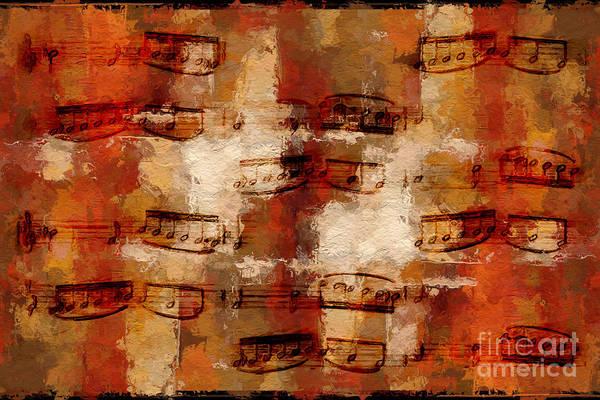 Digital Art - Orange Pastiche by Lon Chaffin