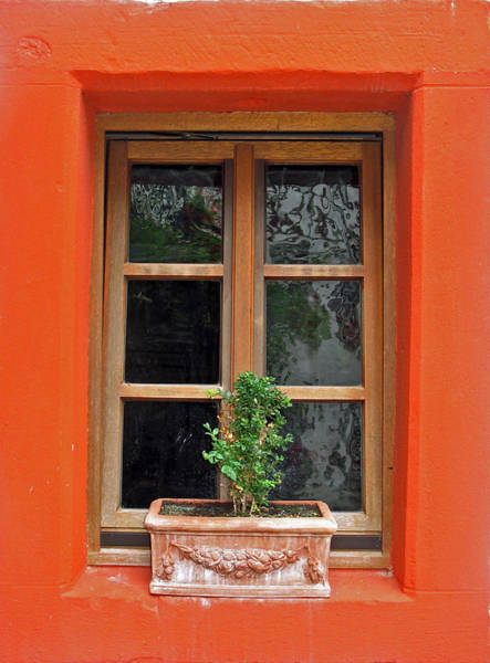 Photograph - Orange Sill by Gerry Bates