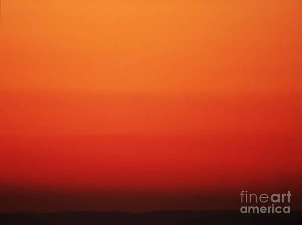 Photograph - Orange Sky by Blair Seitz
