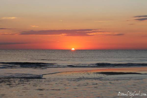 Photograph - Orange Sky Dawn by Robert Banach