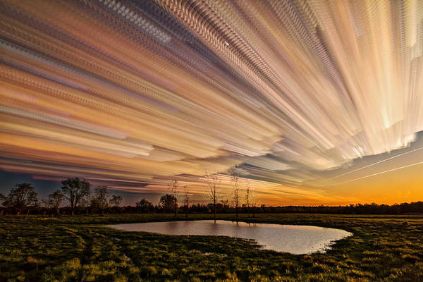 Wall Art - Photograph - Orange Sky by Matt Molloy