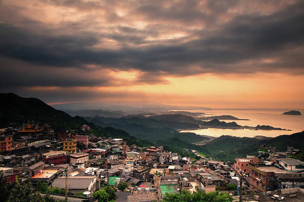 Taiwanese Wall Art - Photograph - Orange Sky by Photographic By Tommy Hsu