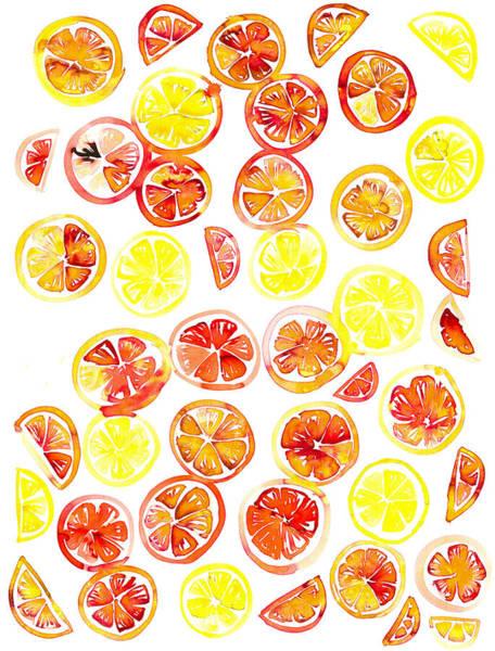 Novelties Painting - Orange Slice by Amy Sia