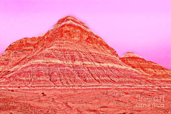 Photograph - Orange Slice Mountain by Bob and Nadine Johnston