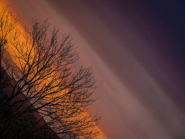 Photograph - Orange Sunrise by James Truett