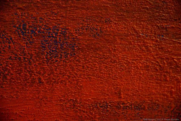 Photograph - Orange Texture by Teresa Blanton