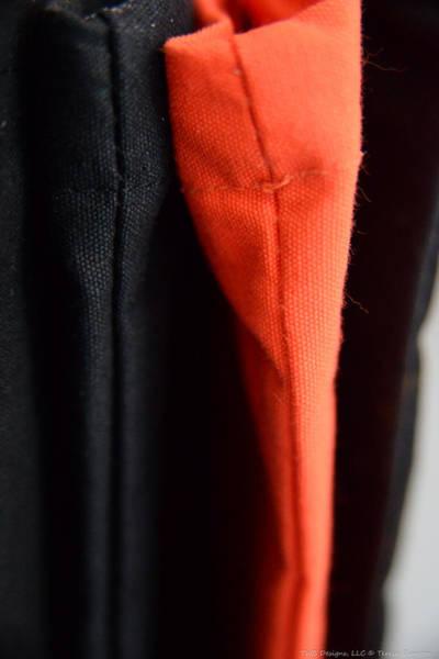 Photograph - Orange With Black by Teresa Blanton
