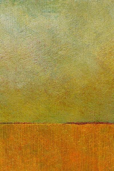 Painting - Orange With Red And Gold by Michelle Calkins