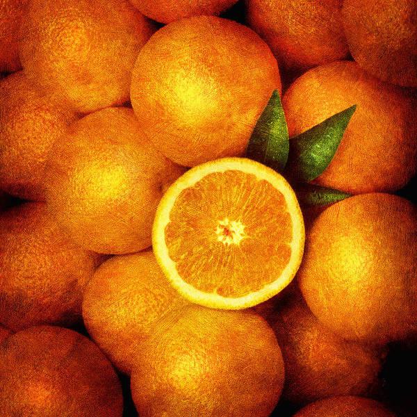 Photograph - Oranges by Mauro Celotti