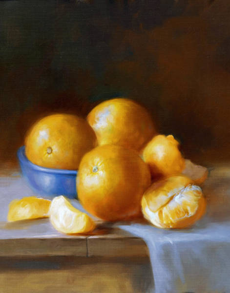 Wall Art - Painting - Oranges by Robert Papp