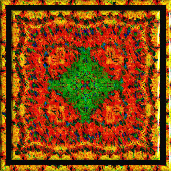 Digital Art - Orangina by Charmaine Zoe