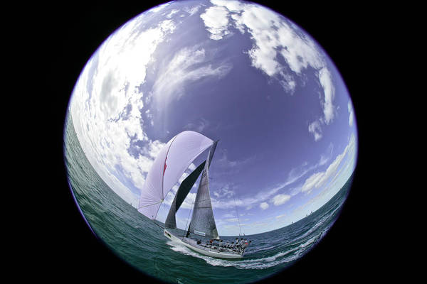 Photograph - Orbital Sloop by Steven Lapkin