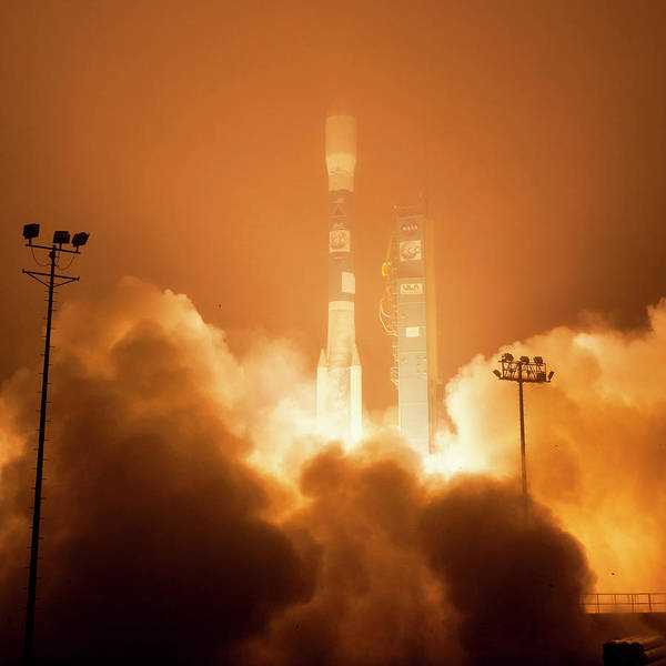 2014 Photograph - Orbiting Carbon Observatory-2 Launch by Nasa/bill Ingalls