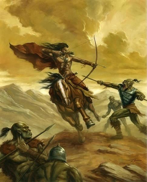 World Of Warcraft Wall Art - Painting - Orc Ambush by Alan Lathwell