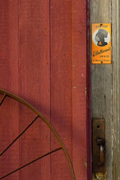 Wall Art - Photograph - Orchard Barn Door by Jonathan Steele