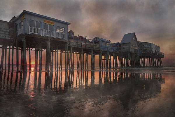 Orchard Photograph - Orchard Beach Glorious Morning by Betsy Knapp