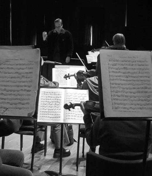 Photograph - Orchestra Rehearsal by Jenny Setchell