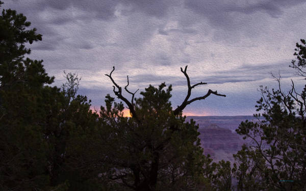 Photograph - Orchestrating A Sunset At The Grand Canyon by John M Bailey