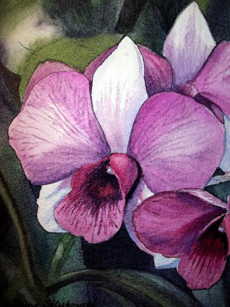 Orchid Painting - Orchid by Irina Sztukowski