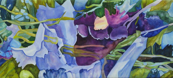 Painting - Orchid Rhapsody by Artimis Alcyone
