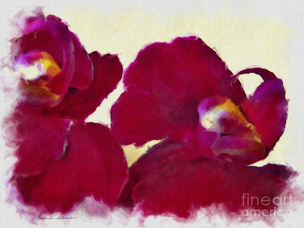 Painting - Orchids No. 4 by Susan Schroeder