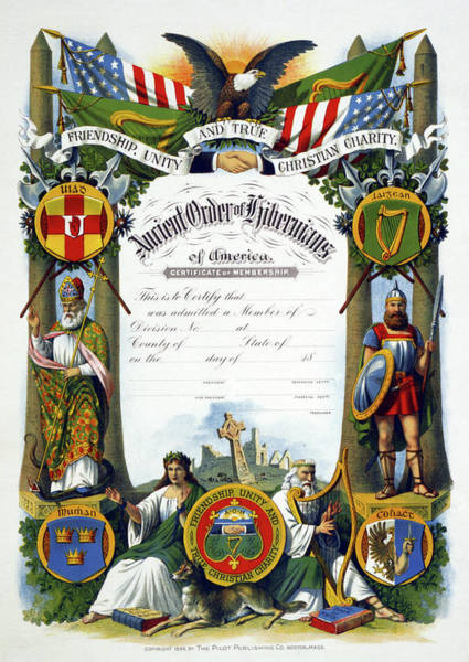 Painting - Order Of Hibernians by Granger