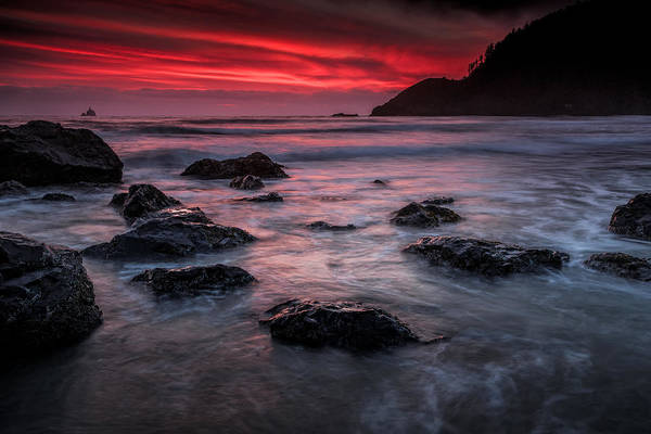 Photograph - Oregon Afterglow by Rick Berk