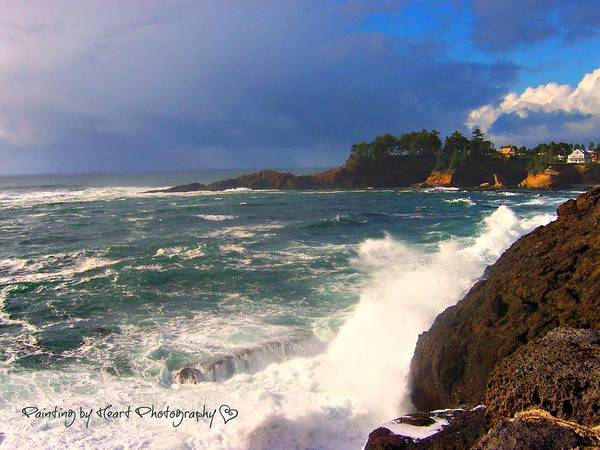 Photograph - Oregon Coast 9 by Deahn      Benware