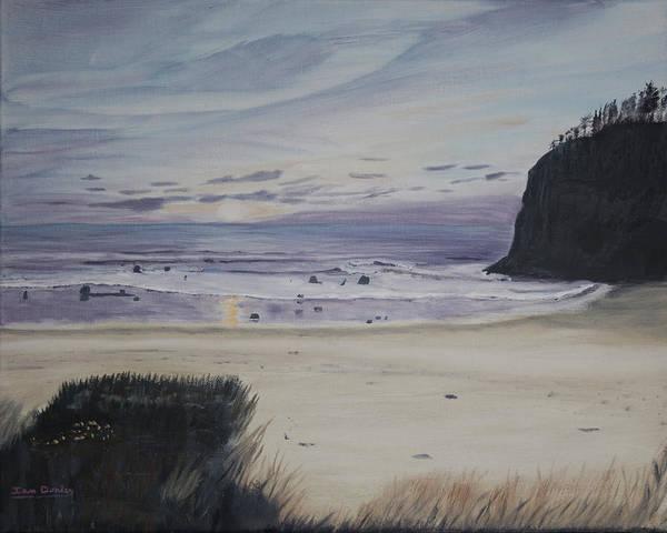 Cannon Beach Painting - Oregon Coast by Ian Donley