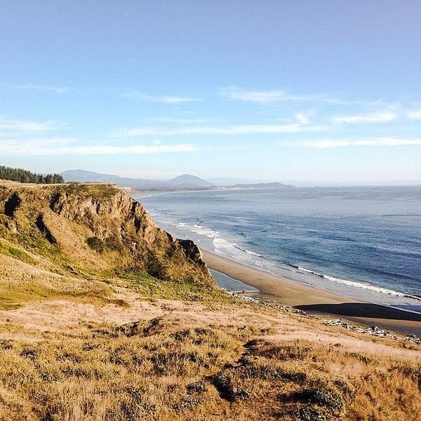 Wall Art - Photograph - Oregon Coast #iphone5 #instagramers by Scott Pellegrin