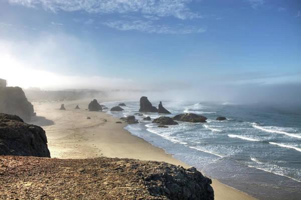 Headlands Photograph - Oregon Coast by Photo By Gordon Ashby