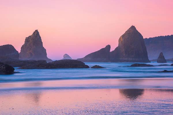 Photograph - Oregon Coast Twilight by Darren  White