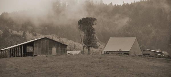 Digital Art - Oregon Farm by Kirt Tisdale