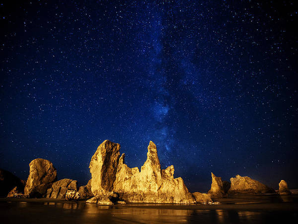 Photograph - Oregon Nights by Darren  White