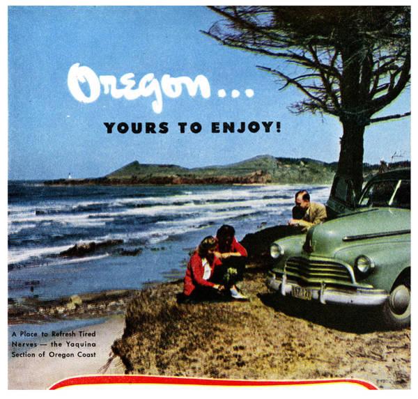 Oregon Coast Digital Art - Oregon by Georgia Fowler