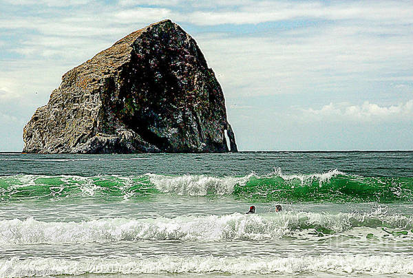 Photograph - Oregon Pacific City Surfing Beach by Bob and Nadine Johnston