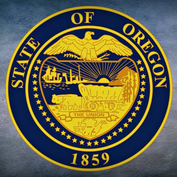 Digital Art - Oregon State Seal by Movie Poster Prints