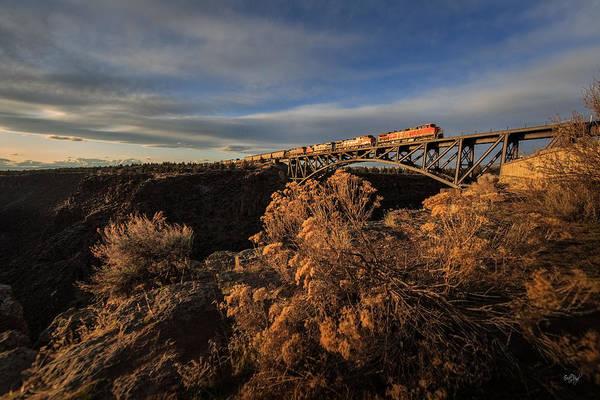 Rr Photograph - Oregon Trunk Rr by Everet Regal