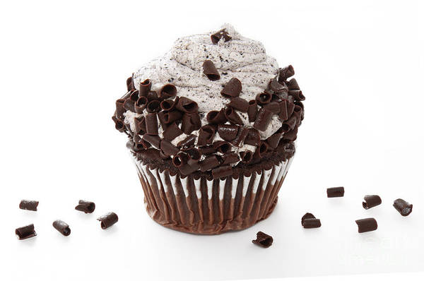 Photograph - Oreo Cookie Cupcake by Andee Design