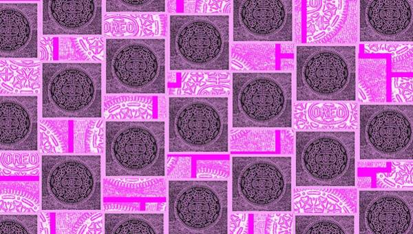 Nabisco Photograph - Oreo Pink Squares For The Cure by Rob Hans