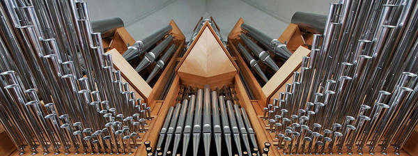 Silver Photograph - Organ by Bragi Ingibergsson -