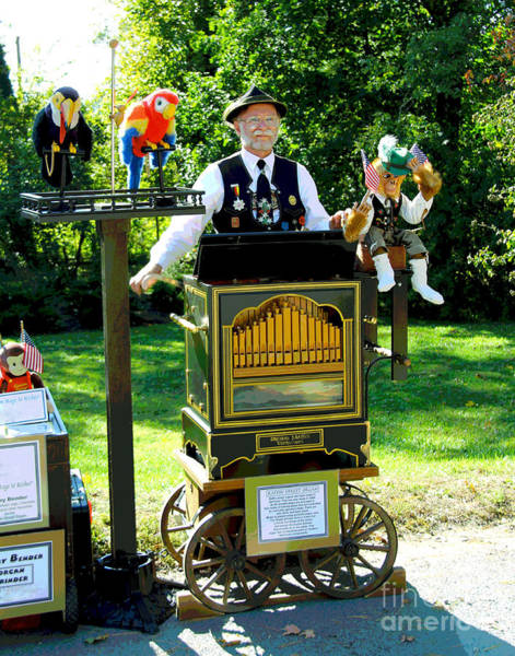 Photograph - Organ Grinder by Larry Oskin