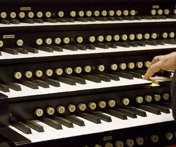 Photograph - Organ Keyboards by Jenny Setchell