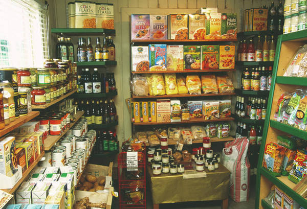 Tin Box Photograph - Organic Food Shop by Antonia Reeve/science Photo Library