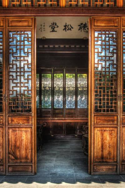 Photograph - Orient - Door - The Temple Doors by Mike Savad