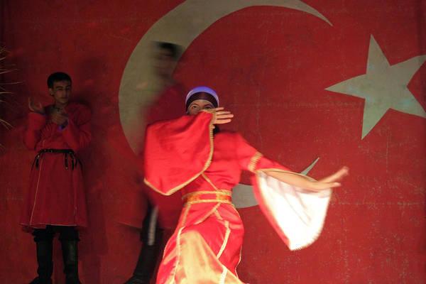 Folk Dances Photograph - Oriental Dancing Scene by Matthias Hauser